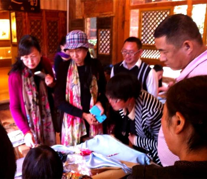 The Chairwomen of Lijiang CPPCC  investigated the Institute
