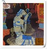Praying天意< Woodblock Painting>