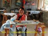 许艳波--白沙锦绣艺术院高级绣师 人品如绣品